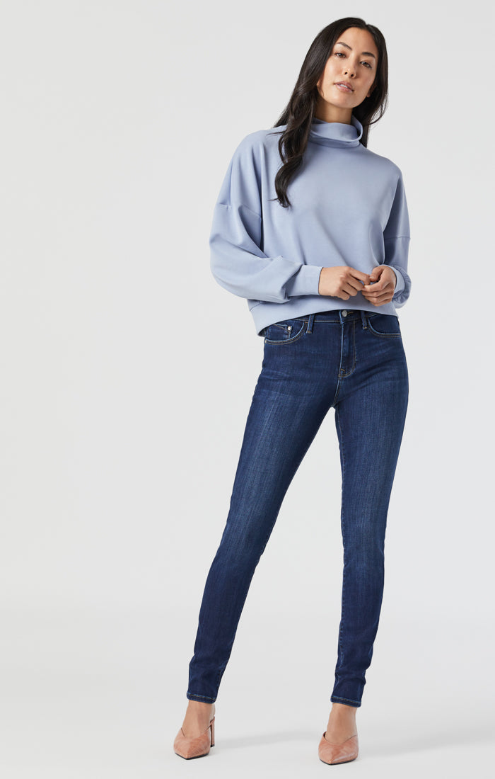 ALISSA SUPER SKINNY JEANS IN DARK SUPERSOFT - Mavi Jeans