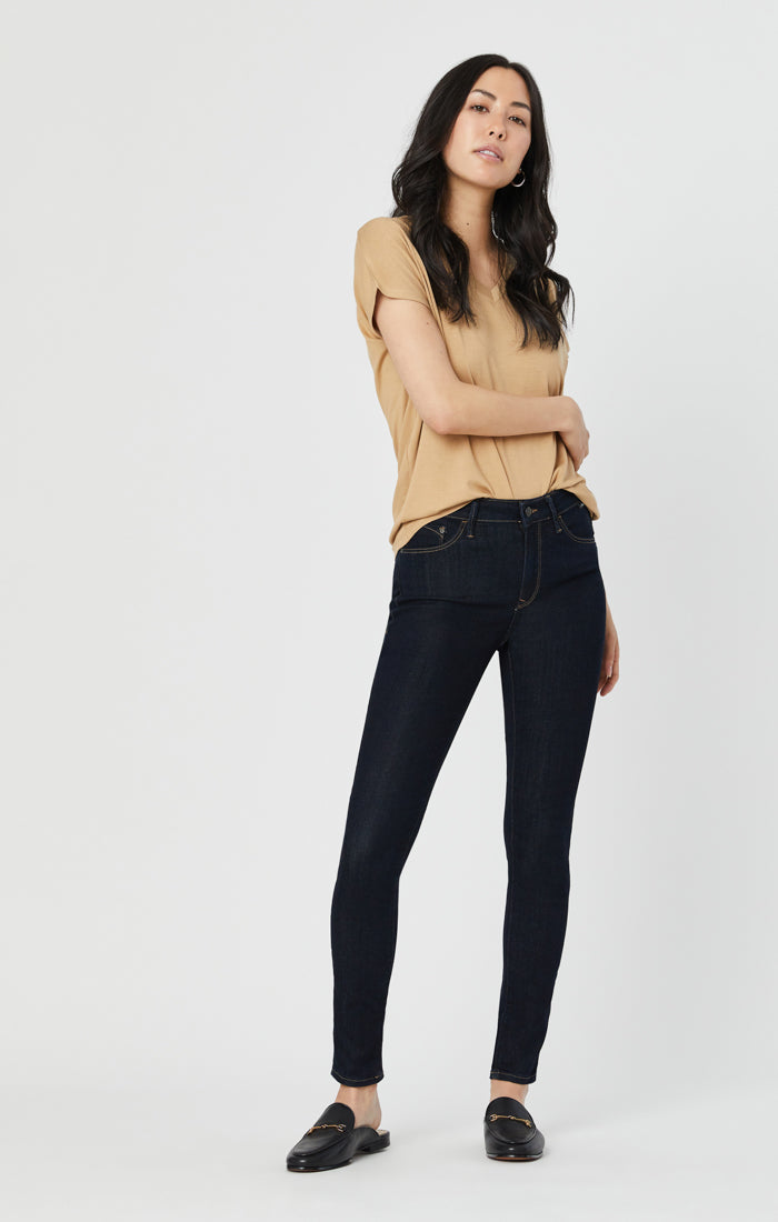 ALISSA SUPER SKINNY JEANS IN RINSE SUPERSOFT - Mavi Jeans