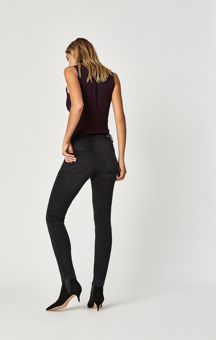 ALISSA SUPER SKINNY JEANS IN GREY GOLD LUX MOVE - Mavi Jeans