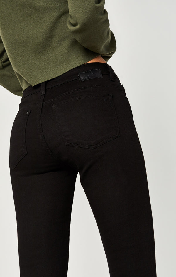 ALISSA SUPER SKINNY JEANS IN DOUBLE BLACK TRIBECA - Mavi Jeans