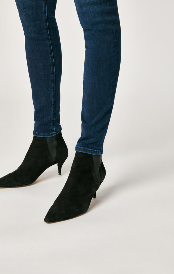 ALISSA SUPER SKINNY JEANS IN DARK MIDNIGHT SUPERSOFT - Mavi Jeans
