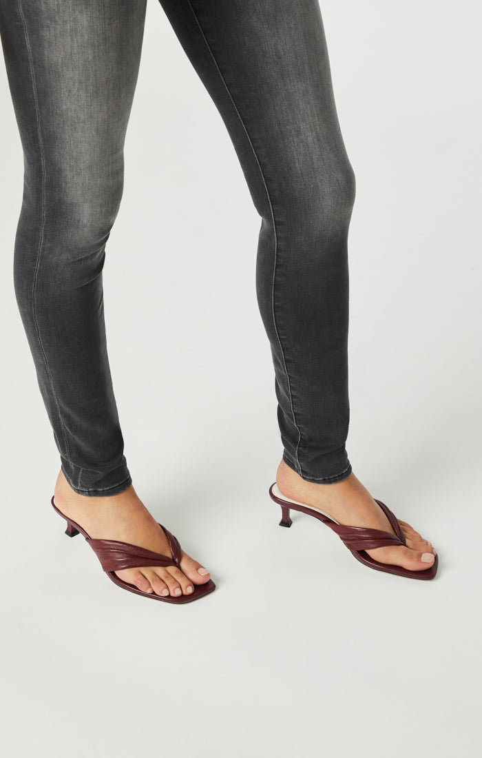 ALISSA SUPER SKINNY JEANS IN LIGHT SMOKE SUPERSOFT - Mavi Jeans