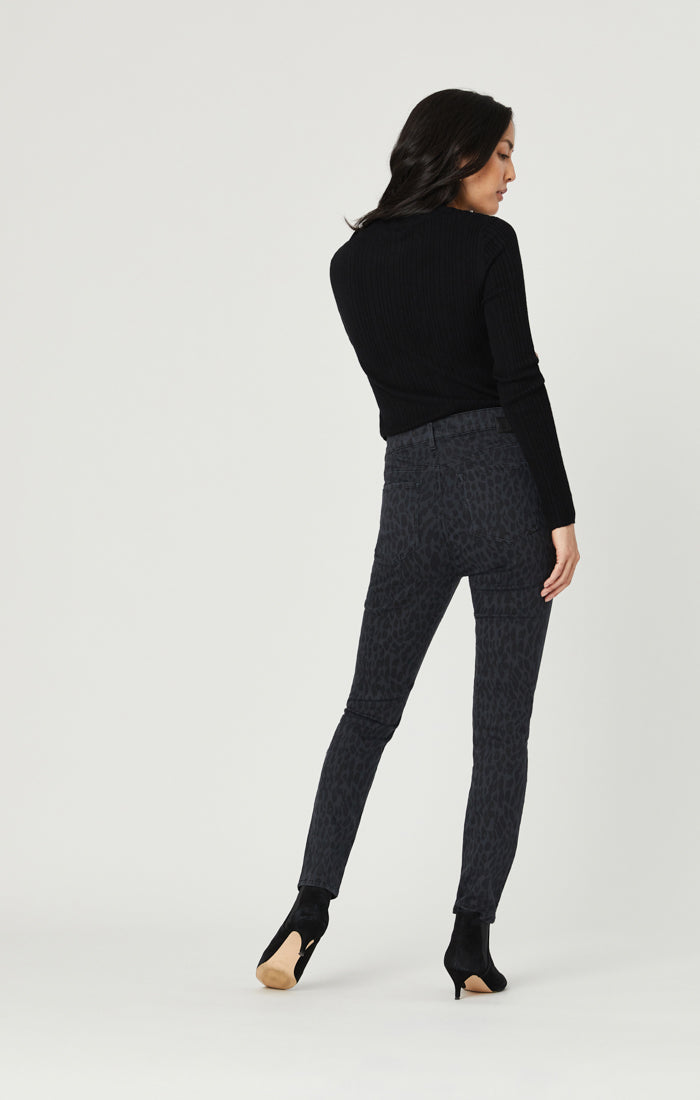 ALISSA SUPER SKINNY JEANS IN SMOKE LEO STRETCH - Mavi Jeans