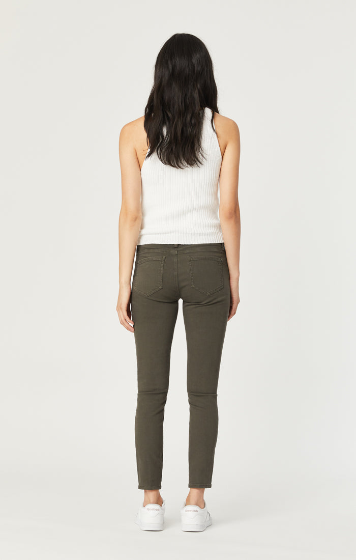 KARLINA SKINNY CARGO PANTS IN MILITARY TWILL - Mavi Jeans