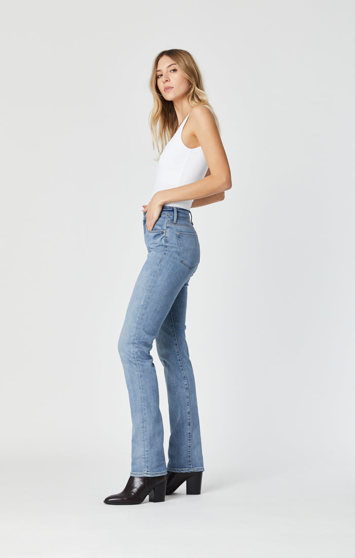 KENDRA STRAIGHT LEG JEANS IN LIGHT FOGGY SUPERSOFT - Mavi Jeans