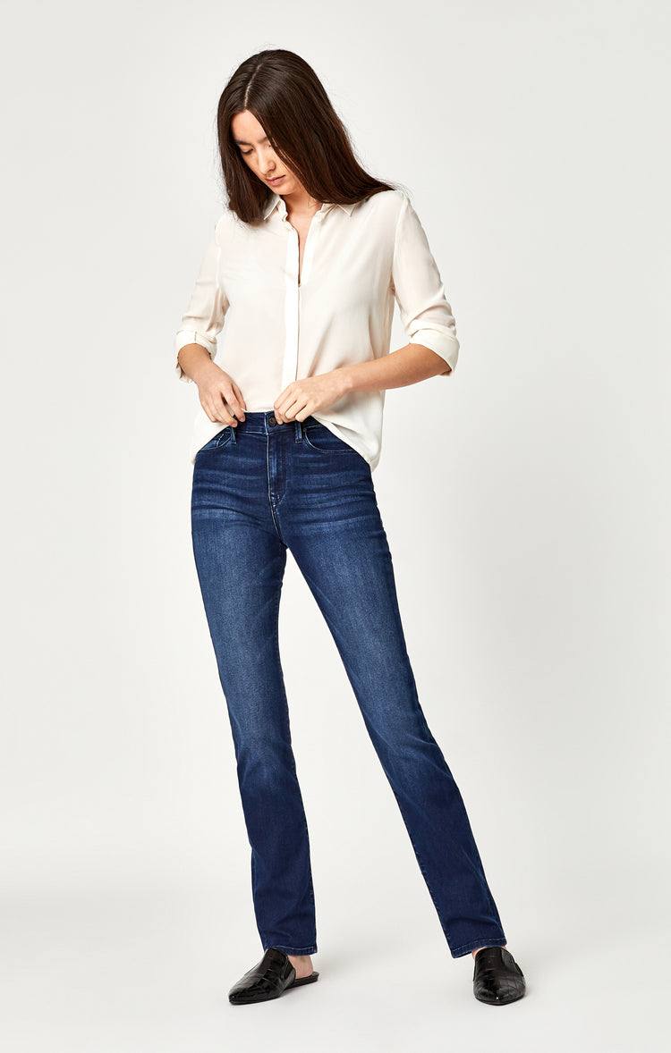KENDRA STRAIGHT LEG IN DEEP SHANTI - Denim - Mavi Jeans