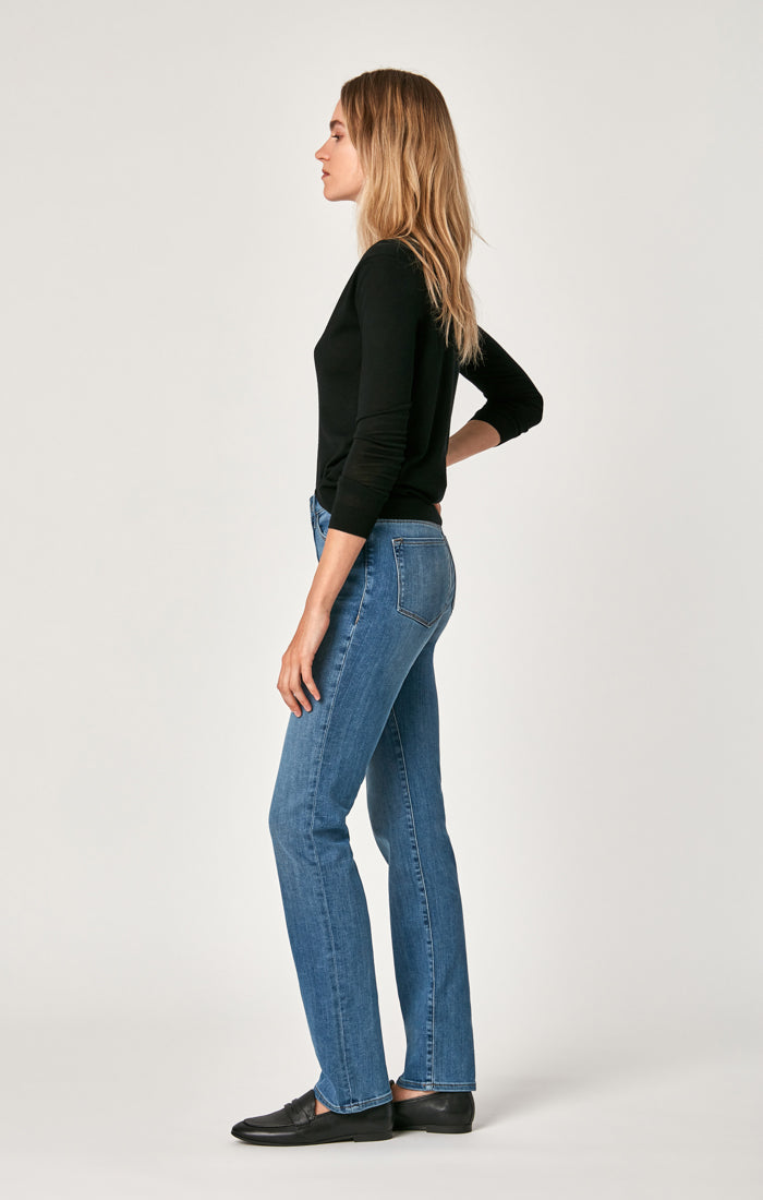 KENDRA STRAIGHT LEG JEANS IN LIGHT BRUSHED SUPERSOFT - Mavi Jeans