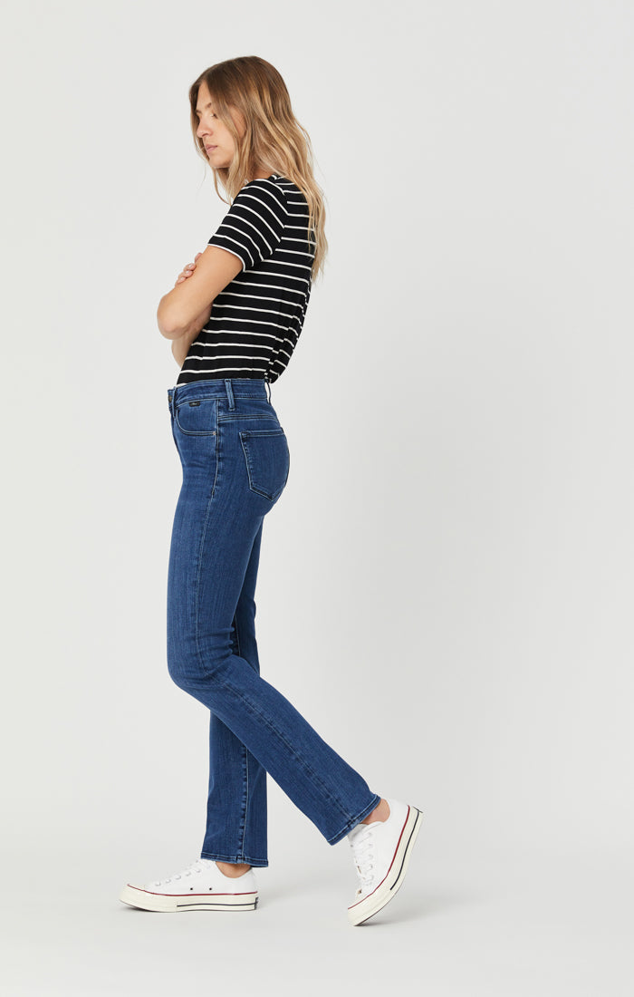 KENDRA STRAIGHT LEG JEANS IN MID TONAL SUPERSOFT - Mavi Jeans