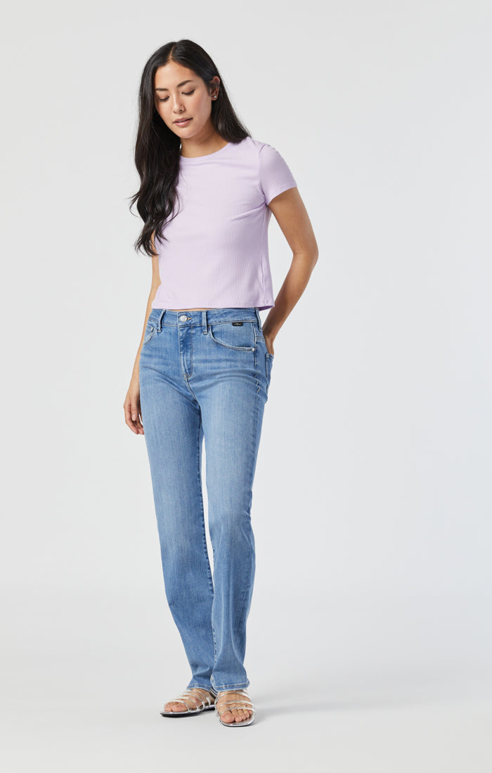 KENDRA STRAIGHT LEG JEANS IN LIGHT SUPERSOFT - Mavi Jeans