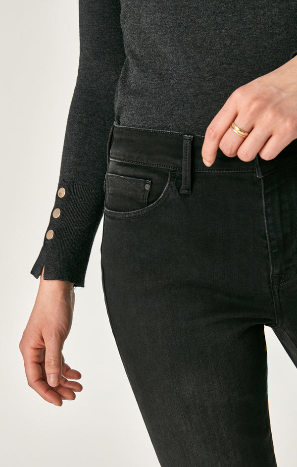 SYDNEY FLARE JEANS IN SMOKE SUPERSOFT - Mavi Jeans