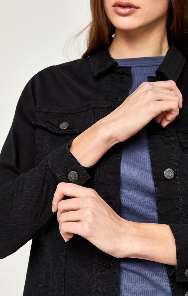 KATY JACKET IN BLACK COMFORT - Mavi Jeans