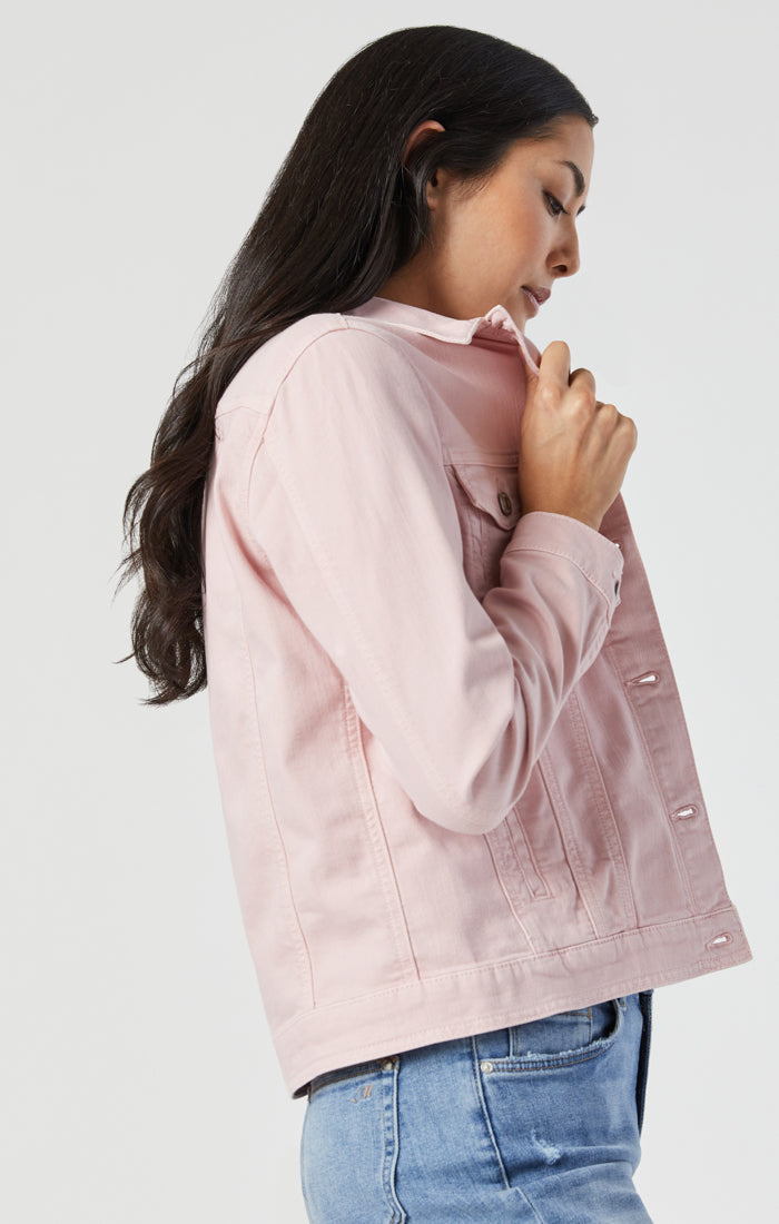 KATY JACKET IN BURNISHED LILAC COMFORT - Mavi Jeans