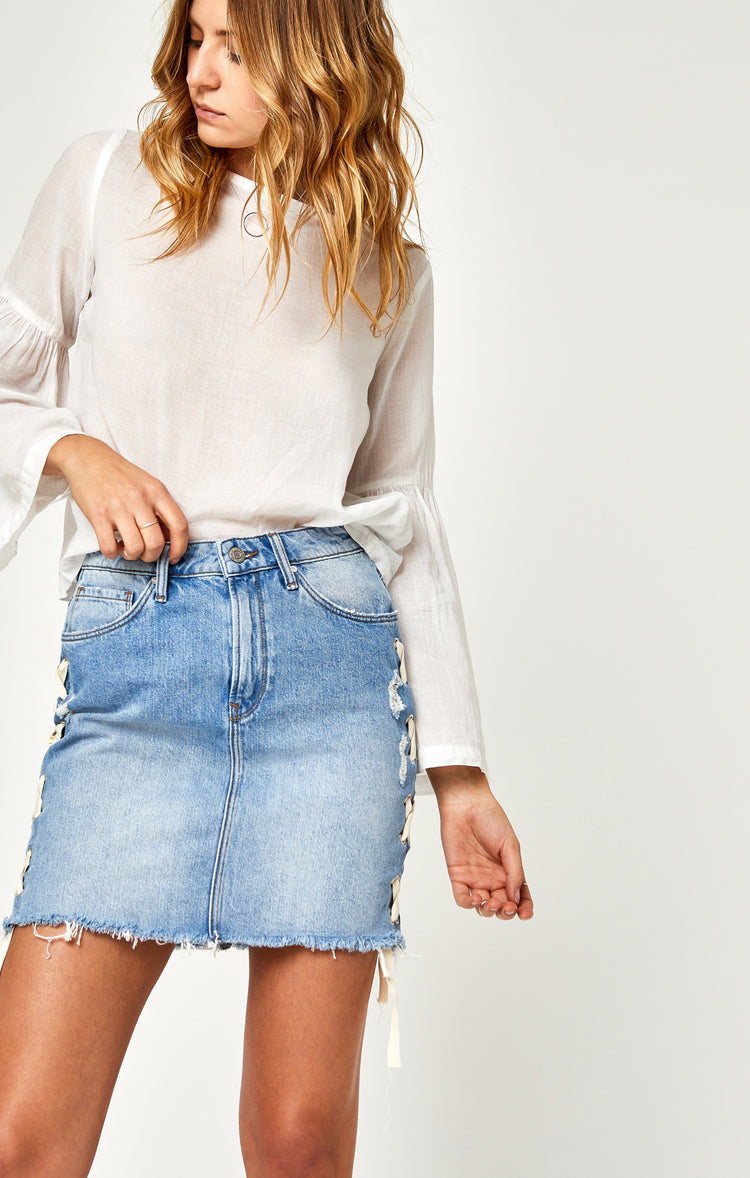FRIDA SKIRT IN LIGHT SUMMER LACE - Skirts - Mavi Jeans