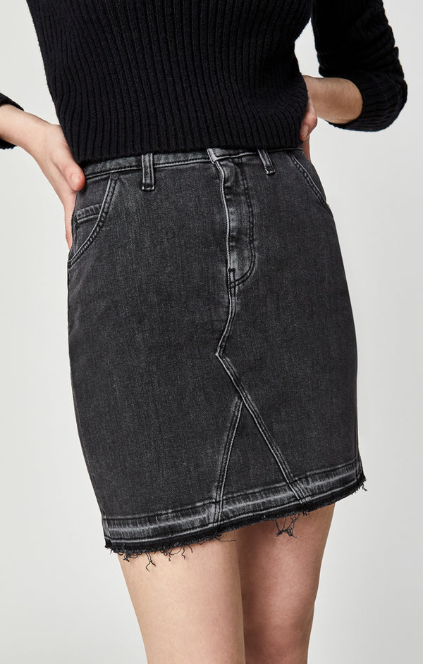 RIA SKIRT IN SMOKE WESTERN - Mavi Jeans