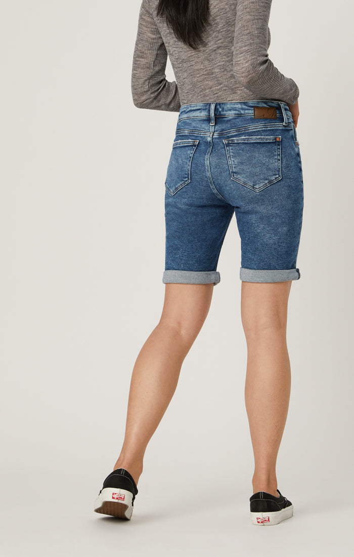 ALEXIS SHORTS IN MID RIPPED LA VINTAGE - Mavi Jeans