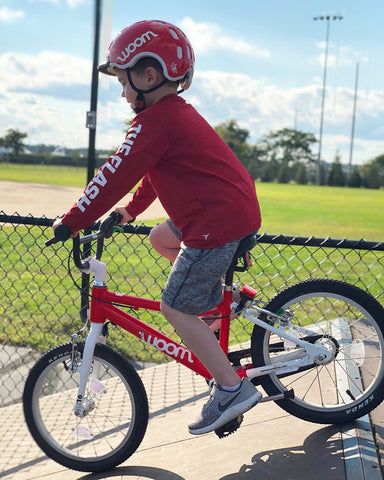 81f982f069a Find a wide open space to practice in, such as a cul de sac or parking lot.  Your child can then focus on the motion of pedaling versus avoiding  obstacles or ...