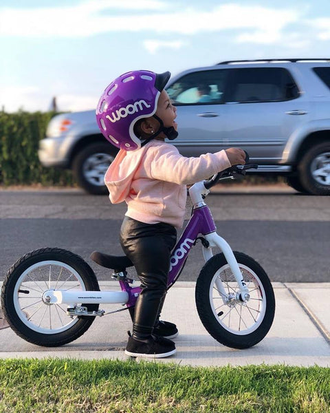 b9b055efa15 Many customers purchase the woom 1 for children between 18 months and 2.5  years old, but there's no true limit—a child can enjoy balancing and riding  as ...