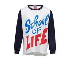 LONGSLEEVE SHIRT SCHOOL OF LIFE