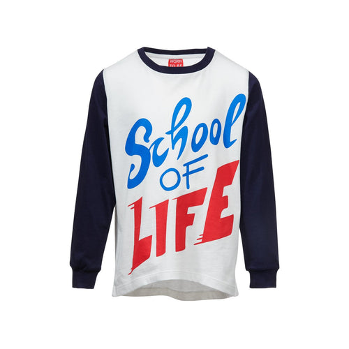 woom LONGSLEEVE SHIRT SCHOOL OF LIFE