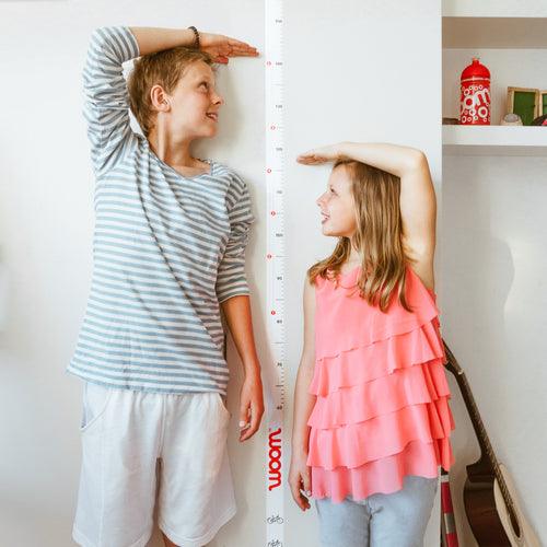 woom height and growth chart