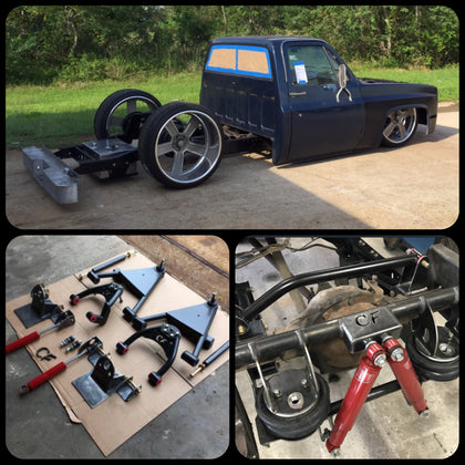 73-87 C-10 Front and Rear Suspension Kit Combo