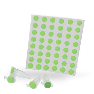 Dot Labels Sheets 1/4″ Diam. – Green - Uniscience Corp.