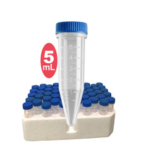 5mL Five-O™ Screw Cap MacroTubes™ Uniscience - Uniscience Corp.