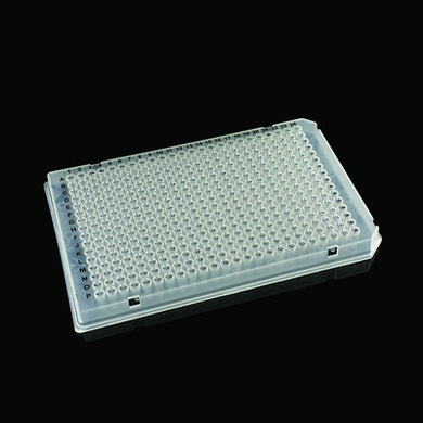384 Well, Full-Skirted PCR Plate Clear - Uniscience - Uniscience Corp.