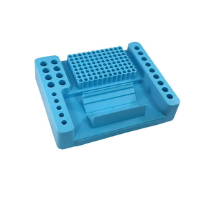 CoolCaddy™ PCR work station (17 x 21 x 4.5cm / 8.3 x 6.8 x 1.8in.) Uniscience - Uniscience Corp.