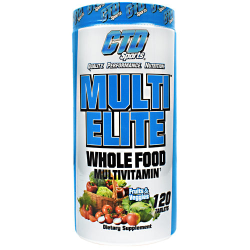 CTD Sports Multi Elite - 120 Tablets - 094922284358