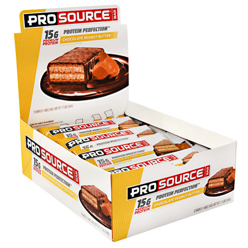 Prosource ProSource Bar - Chocolate Peanut Butter - 12 ea - 897006000437