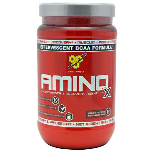 BSN Amino X - Fruit Punch - 30 Servings - 834266003303