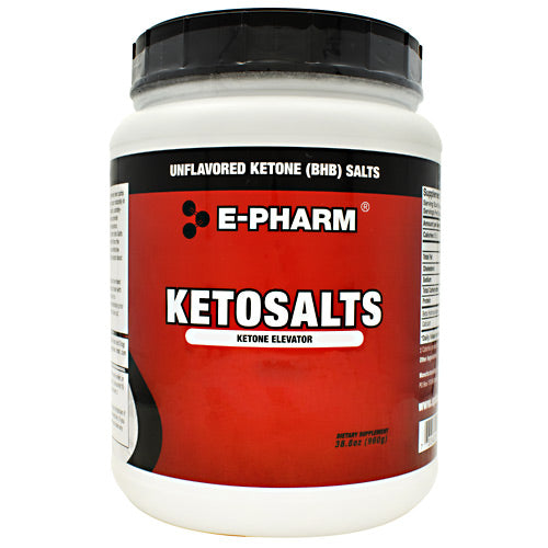 E-Pharm KetoSalts - Unflavored - 60 Servings - 733428007176