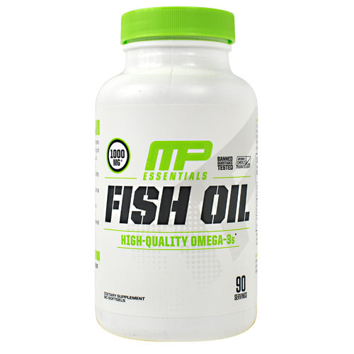 MusclePharm Essentials Fish Oil - 90 Softgels - 856737003957