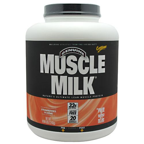 Cytosport Muscle Milk - Strawberries N Creme - 4.94 lb - 660726503362