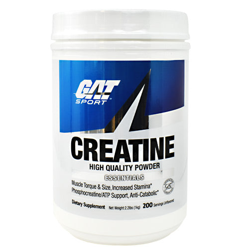 GAT Creatine - Unflavored - 200 ea - 859613273291