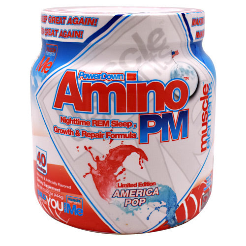 Muscle Elements PowerDown AminoPM - America Pop - 40 Servings - 811123023902