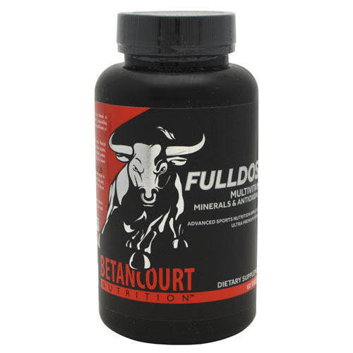 Betancourt Nutrition Fulldose Supplements - asnokc.com