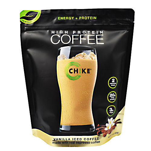 Chike Nutrition High Protein Coffee - Vanilla Iced Coffee - 14 Servings - 185689000425