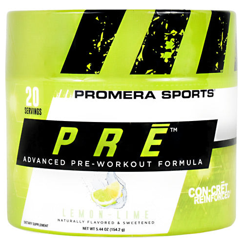 ProMera PRE - Lemon Lime - 20 Servings - 682676704200