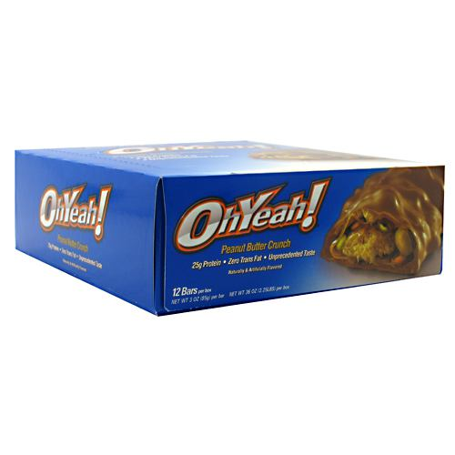 ISS OhYeah! Bar - Peanut Butter Crunch - 85 g - 788434110426