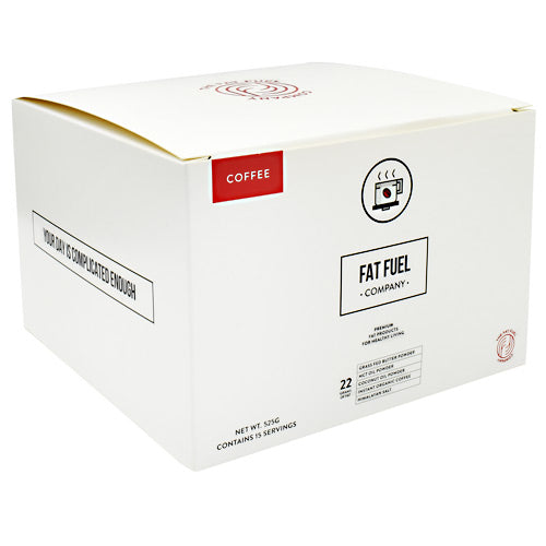 Fat Fuel Company Fat Fuel - Coffee - 15 ea - 602573097137