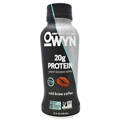 OWYN Protein Drink - Cold Brew Coffee - 12 Bottles - 10857335004978
