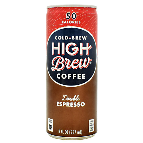 High Brew Coffee Cold Brew Coffee RTD - Double Espresso - 12 Cans - 10854560005008