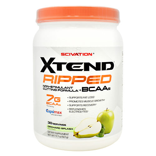 Scivation Xtend Ripped - Orchard Splash - 30 Servings - 842595108354