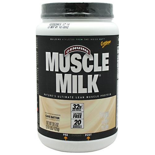 CytoSport Muscle Milk - Cake Batter - 2.47 lb - 660726505700