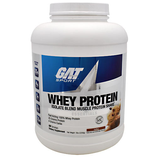 GAT Whey Protein - Coffee - 68 Servings - 816170020904