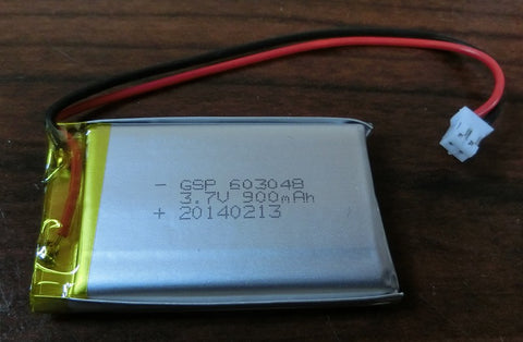 850mAh Polymer Lithium Ion Battery