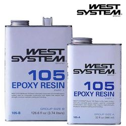 West System 105 Resin (Size B)
