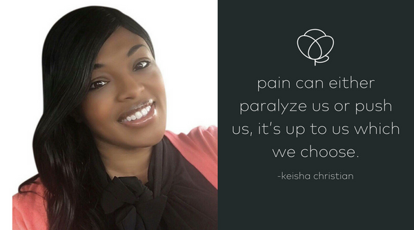 Finding The Courage To Ignite Change; The Keisha Christian Story